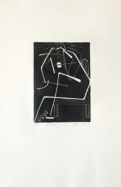 Noir & Blanc - Gravure 33 x 50 cm - 2009