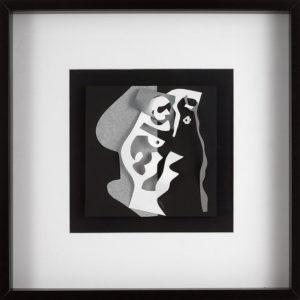 FLATLAND III - 04 - papiers découpés - 2019 50 x 50 cm