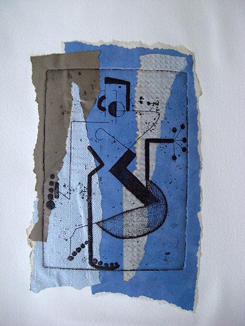 Série 23 - Gravure chine collé 33 x 50 cm - 2007