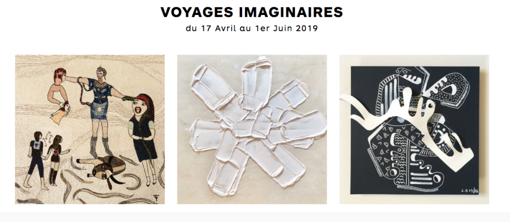 Voyages Imaginaires 1831 Art Gallery 2019