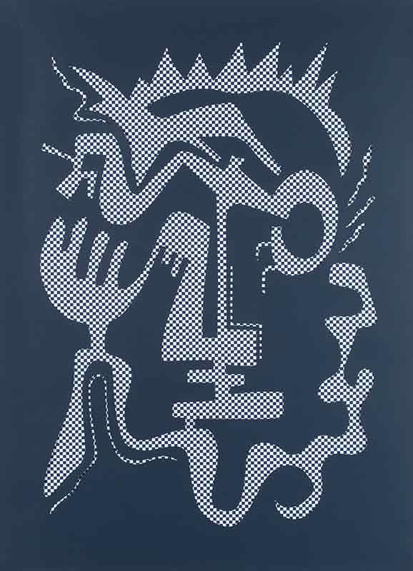 Régalez-vous ! - 80x110cm, papier découpé - 2019